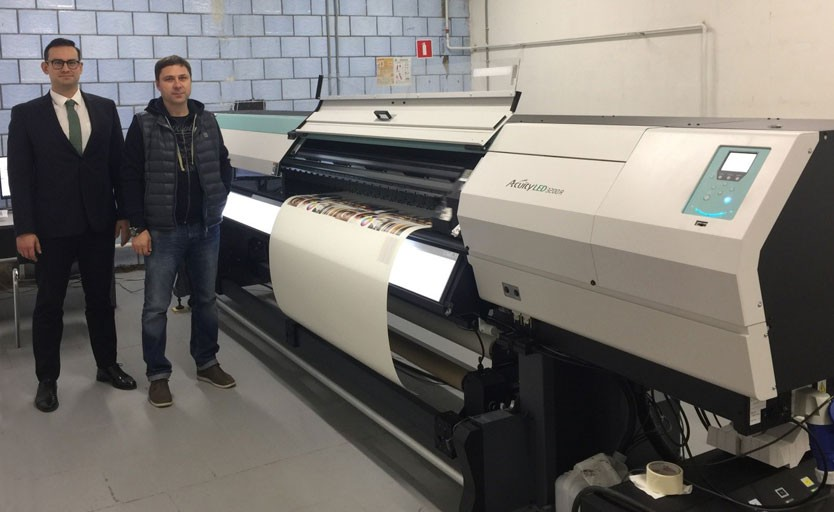 Fujifilm Acuity LED 3200 Bum Art press